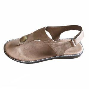 Aerosoles Nude Be Cool Thong Sandal Adjustable